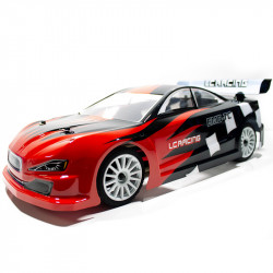 COCHE BRUSHLESS TOURING 1/10 EMB-TCH LC RACING RTR LIPO VERSION (7,4V) ROJO