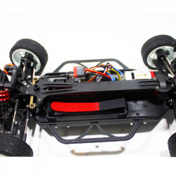 COCHE RC RALLY 1/14 EMB-WRCL LC RACING RTR C/ESCOBILLAS LIPO VERSION (7,4V) NEGRO 7