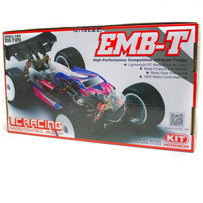 COCHE TRUGGY 1/14 EMB-TGH LC RACING KIT DE MONTAGE