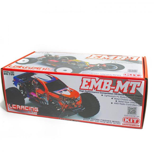 COCHE BIGFOOT 1/14 LC RACING EMB-MTHK KIT DE MONTAJE