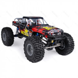 COCHE RC ROCK HAMMER PRO HSP BRUSHLESS+LIPO+60A RTR ROJO