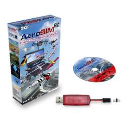 Simulador RC AeroSIM RC (USB sin cable) Versión 4.61 (Oct 2019)