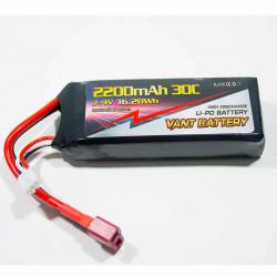 BATERÍA EXTRA POWER COCHES WLTOYS 1/12 (12428 - L959 - L969 - L202 - L212 - 12401 -12402 - 12404) 7.4V 2200MHA 30C