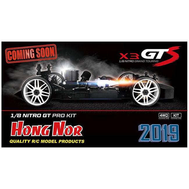 COCHE HONG NOR X3 GTS NITRO KIT 2019 COMPETICIÓN