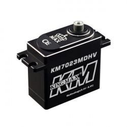 Servo Standard Digital KM7023MDHV 24KG / 0.11s HV Caja Aluminio, Piñones Metal