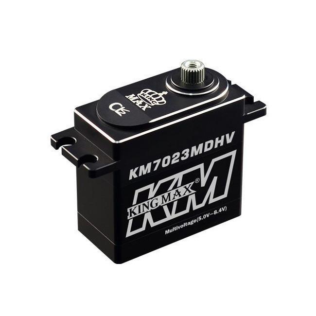 Servo Digital KM7023MDHV Aluminio Piñones Metal 24KG HV