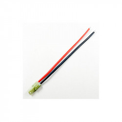 CABLE CON CONECTOR MINI TAMIYA MACHO 10CM