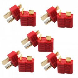 CONECTOR T DEAN M+H (5 PAREJAS)