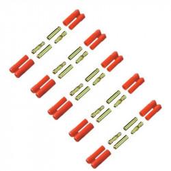 CONETORES HXT 4MM M+H (5 PARES)