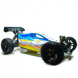 "▷ HSP FABLE 94077 ◁ COCHE BRUSHLESS GRAN ESCALA BUGGY: ""LA BESTIA"" (AZ)"