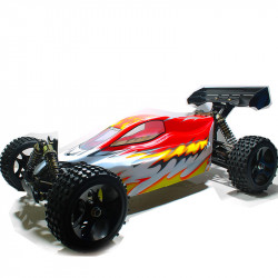 "▷ HSP FABLE 94077 ◁ COCHE BRUSHLESS GRAN ESCALA BUGGY: ""LA BESTIA"" (RJ)"