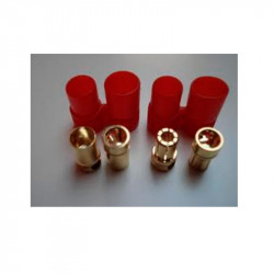 CONECTOR HXT 6MM M+H (5 PARES)