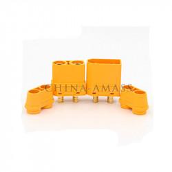 CONECTORES XT90 CON CUBIERTA M+H (5 PARES)