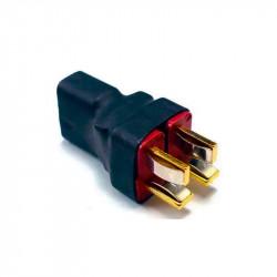 CONECTOR PARALELO 2 T DEAN MACHO A T DEAN HEMBRA (2 PCS)