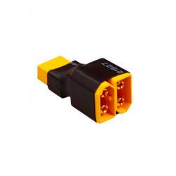 CONECTOR EN SERIE 2 XT60 MACHO A XT60 HEMBRA (2 PCS)