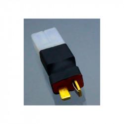 CONECTOR CONVERTIDOR TAMIYA HEMBRA A T DEAN MACHO (2 PCS)
