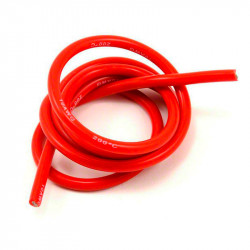 1M CABLE SILICONA ROJO 14AWG ULTRA FLEXIBLE