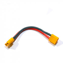 CABLE ALARGADOR 10CM CONECTORES M+H XT60