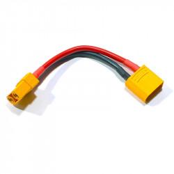 CABLE ALARGADOR 10CM CONECTORES M+H XT90