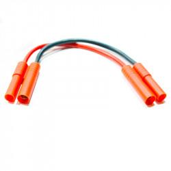 CABLE ALARGADOR 10CM CONECTORES M+H HXT 4MM