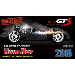 COCHE HONG NOR X3 GTS NITRO KIT 2019 COMPETICIÓN VERSIÓN COMPLETA RTR (LISTO PARA CORRER)