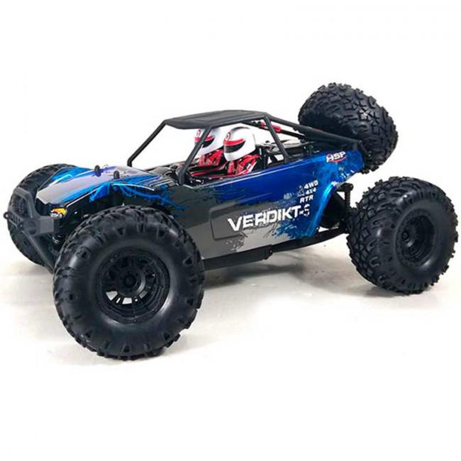 VERDIKT-S SPEED CRAWLER 4X4 ALTAS PRESTACIONES Y AUTONOMÍA CON LIPO 7.4V ROJO (LISTO PARA CORRER) 94705-98