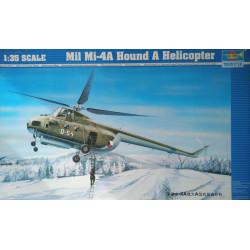 MAQUETA MIL MI-4A HOUND A HEILICOPTER ESCALA 1:35