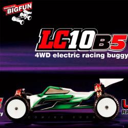 Coche RC LC Racing LC10B5 4x4 competición buggy en kit de montaje (solo el coche)