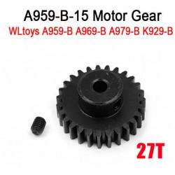 Piñón Motor Metálico 27T a959-b a969-b a979-b k929-b WLToys