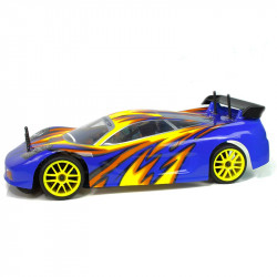 Sonic HSP Coche Touring Combo (2,4Ghz) 1/10 Amarillo y Azul