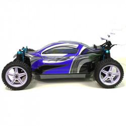 Coche RC XSTR Pro HSP 1/10 Brushless Lipo 2,4Ghz 4WD Azul-Plata