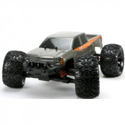 MONSTER TRUCK E5 BRUSHLESS 3655 / 4400KV GRIS (LISTO PARA CORRER)