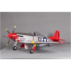 AVIÓN P-51D V8 1400MM RED TAIL PNP