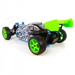 Warhead (Atomic) HSP Buggy 1/10 4wd (2,4GHZ) Blanco y Negro