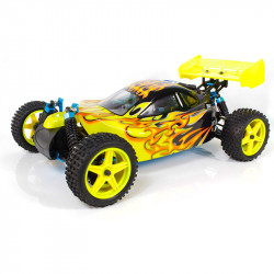 Warhead (Atomic) HSP Buggy 1/10 4wd (2,4GHZ) Amarillo y Negro