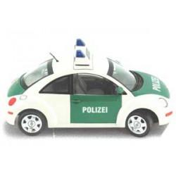 Maqueta Volkwagen New Beetle Policia
