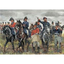 Maqueta Estado Mayor Ejercito Britanico Y Prusiano