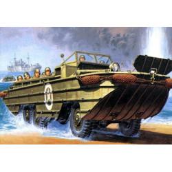 Maqueta Vehiculo Anfibio Dukw II Guerra Mundial