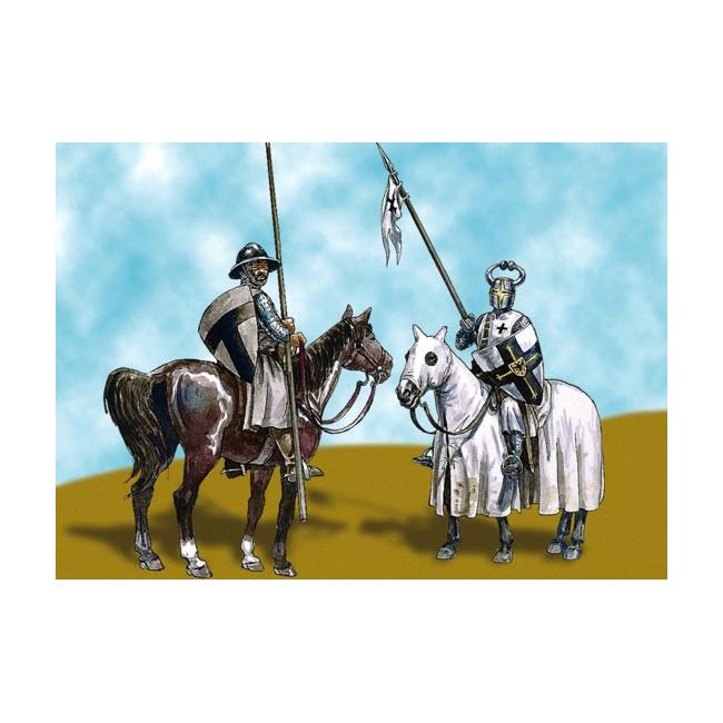 Maqueta Caballeros Teutonics