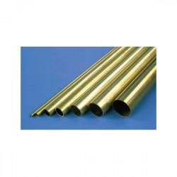 Tubo de Latón 4.0mm x 0.30mm x 1m de largo