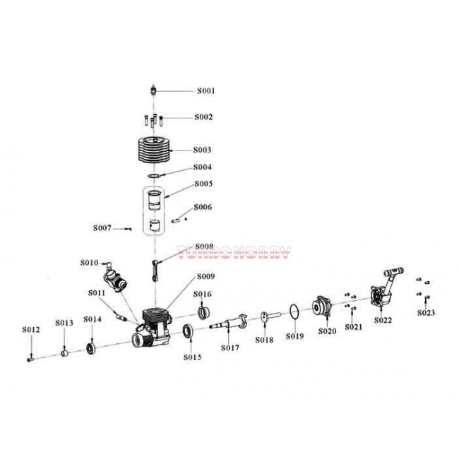 Tórica motor Vertex 21CXP