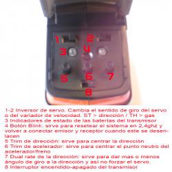 Botones de configuración GT2