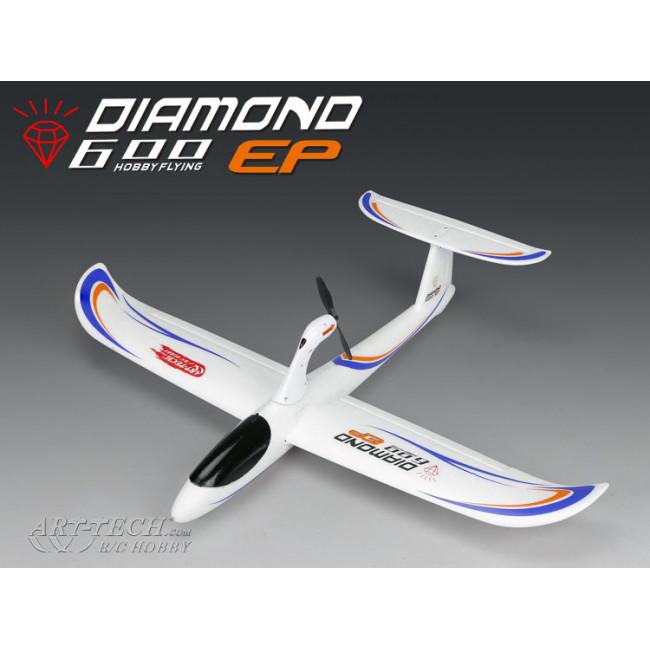 Avión Planeador Diamond 600