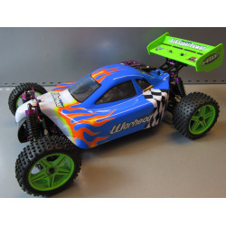 Warhead (Atomic) HSP Buggy 1/10 4wd (2,4GHZ) Blanco y Azul
