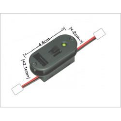 Indicador de batería led multicolor