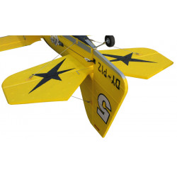 Avión RC Pitts Model 12 Amarillo PNP