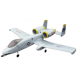 Avión RC A-10 Thunderbolt Gris PNP Dynam