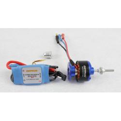 Motor KV1080 y Variador Brushless 18amp Detrum