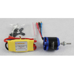 Motor KV1100 y Variador Brushless 30amp Detrum