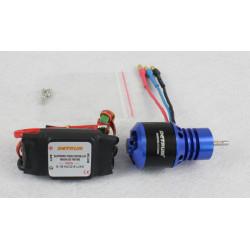 Motor KV3300 y Variador Brushless 40Amp Detrum